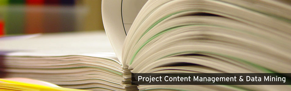 Project Conntent Management and Data Mining