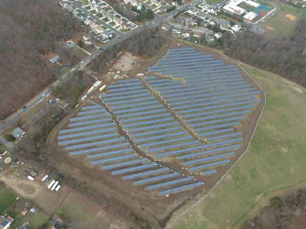 Somerdale Road Landfill Solar Installation