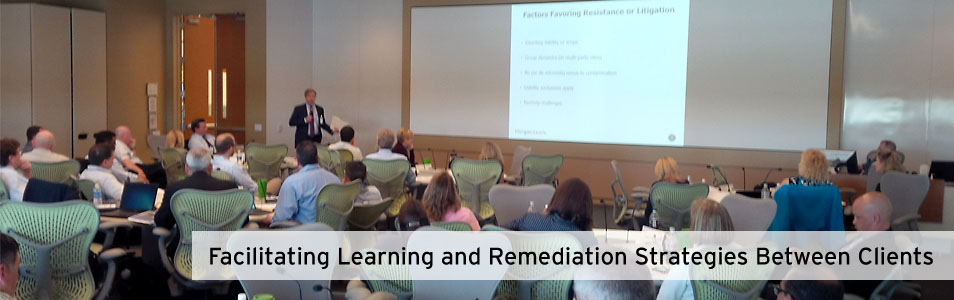 Facilitating Learning and Remediation Strategies Between Clients